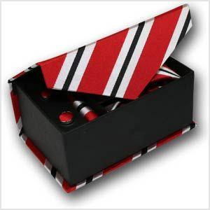 Caja regalo Corbata con Pañuelo de bolsillo