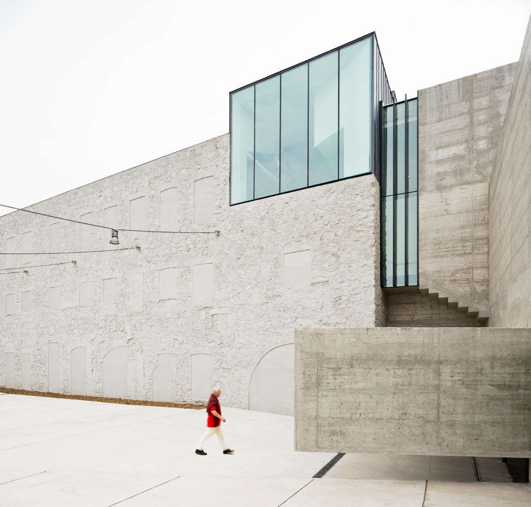Musée Can Framis, Barcelone. BAAS arquitectura ® Pedro Pegenaute