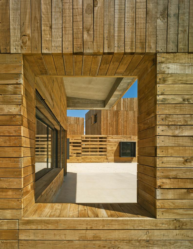 MAISON POUR TROIS SOEURS À MURCIA (CATALOGNE) Cabinet Blancafort Reus Architecture © David Frutos