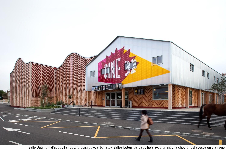 Ciné 32 (Auch, 32), Encore Heureux architectes (Nicola Delon et Julien Choppin)- cr Sebastien Normand - Lauréat