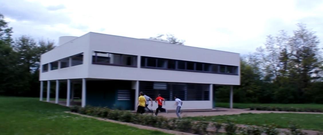 Parkour architectural, Prix diffusion, Pierre Antoine Blondel.