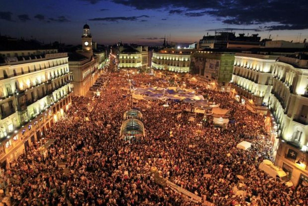 Campement de la Puerta del Sol, Madrid (Espagne), 2011 - CATEGORIE SPECIALE 2012