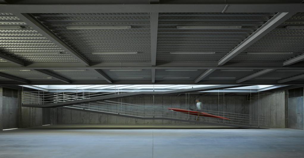 Centro de remo y piragüismo - José María Sánchez García © Roland Halbe