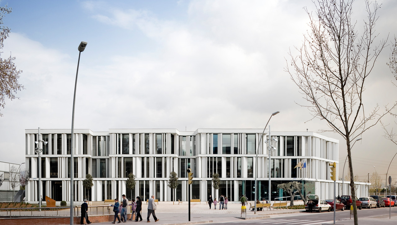 Palais de Justice Sant Boi de Llobregat, Barcelone. BAAS arquitectura ® Pedro Pegenaute