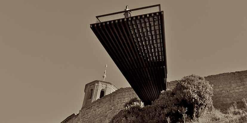 Vue panoramique sur le Duero et réaménagement de la Plaza Mayor (Espagne) 2011 - FINALISTE 2012