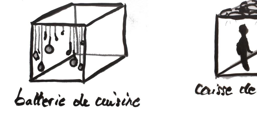 # # Leur pièce : cuisine et resonances