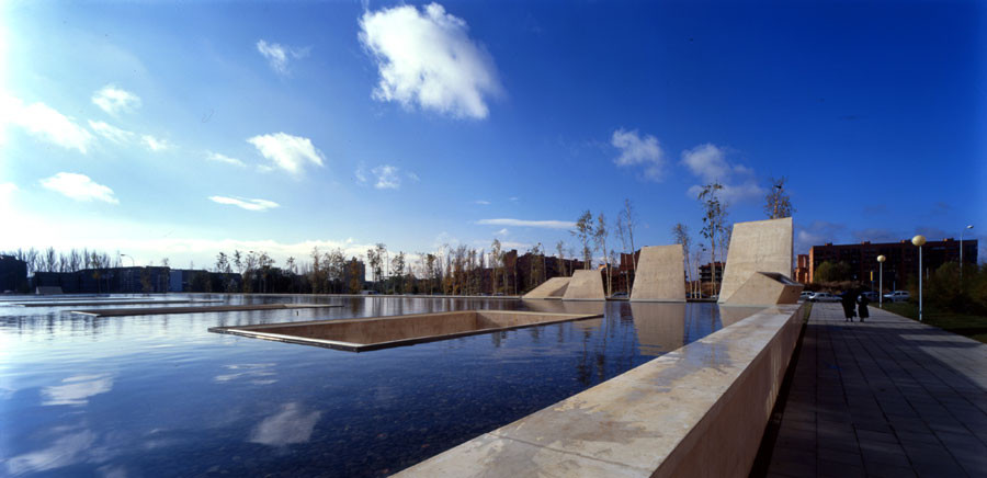 Funérarium de León, Spagne. BAAS arquitectura ® Eugeni Pons