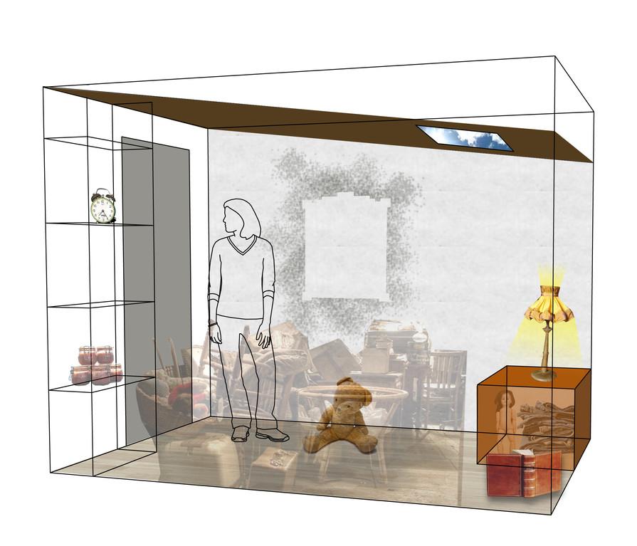 ## La pièce : Faisons le plein du vide-grenier