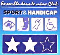 Label Sport adapté              2 étoiles
