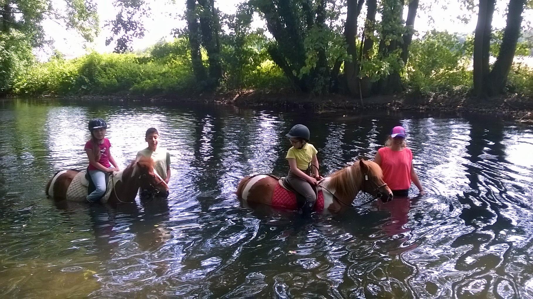 La rivière, accessible pour tous les âges et tous les niveaux