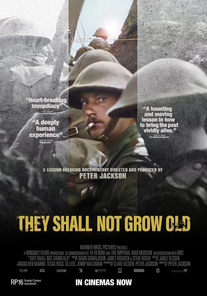 """""""THEY SHALL NOT GROW OLD """"- in Farbe mit deutschen Untertiteln HD."""