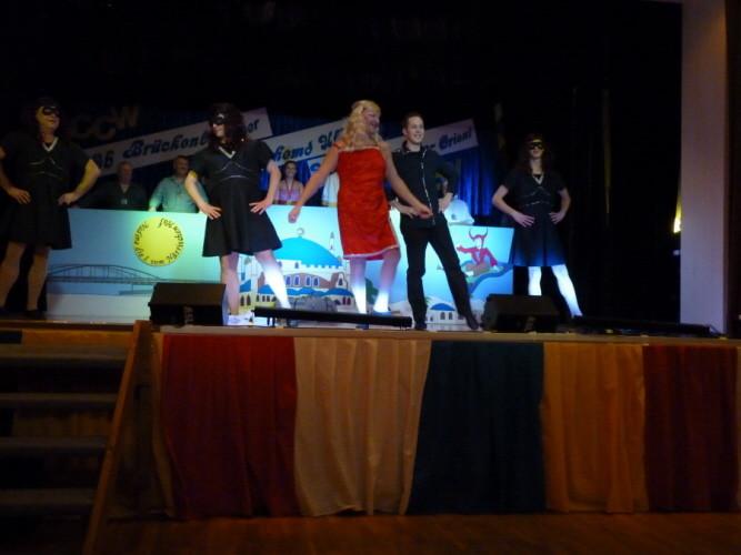 Auftritt 2012 mit dem Motto Krimi