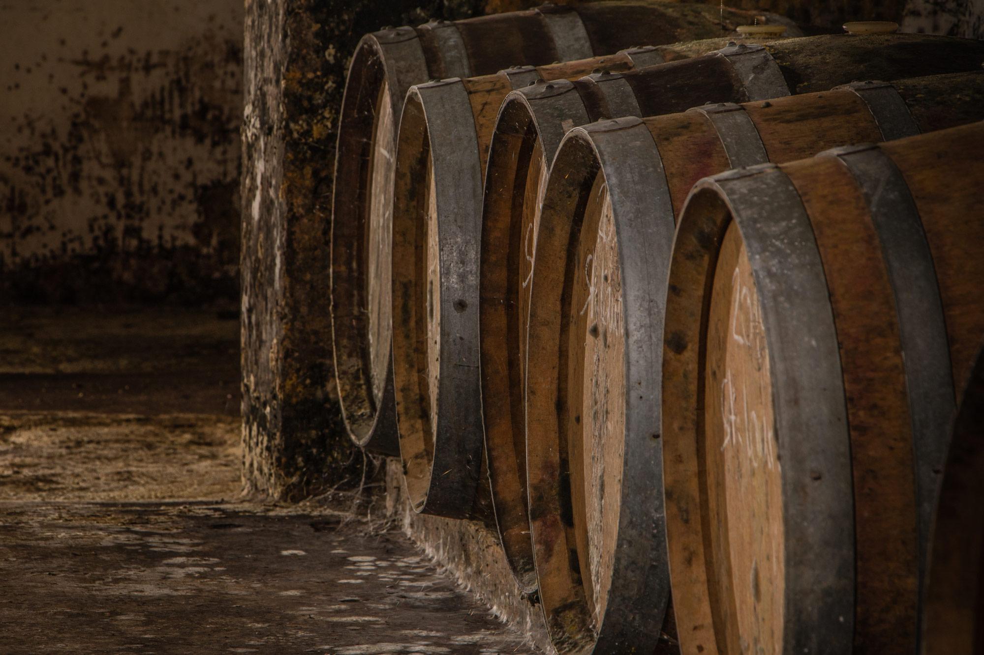 ...unserer Rotweine in Barriquefässern ist weiterhin gegeben.