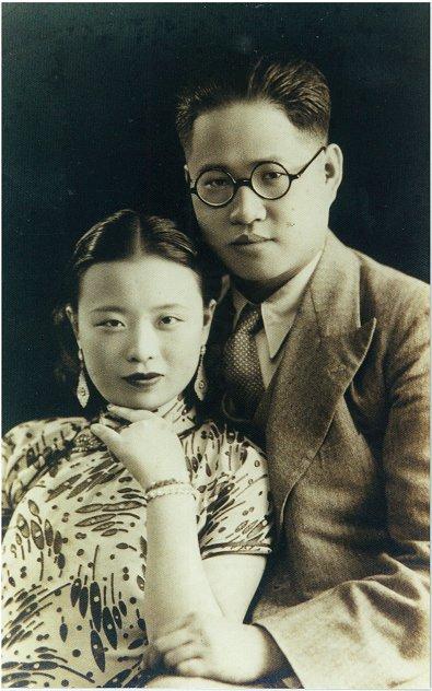 若かりし頃の師母とDr.尤老師ご夫妻