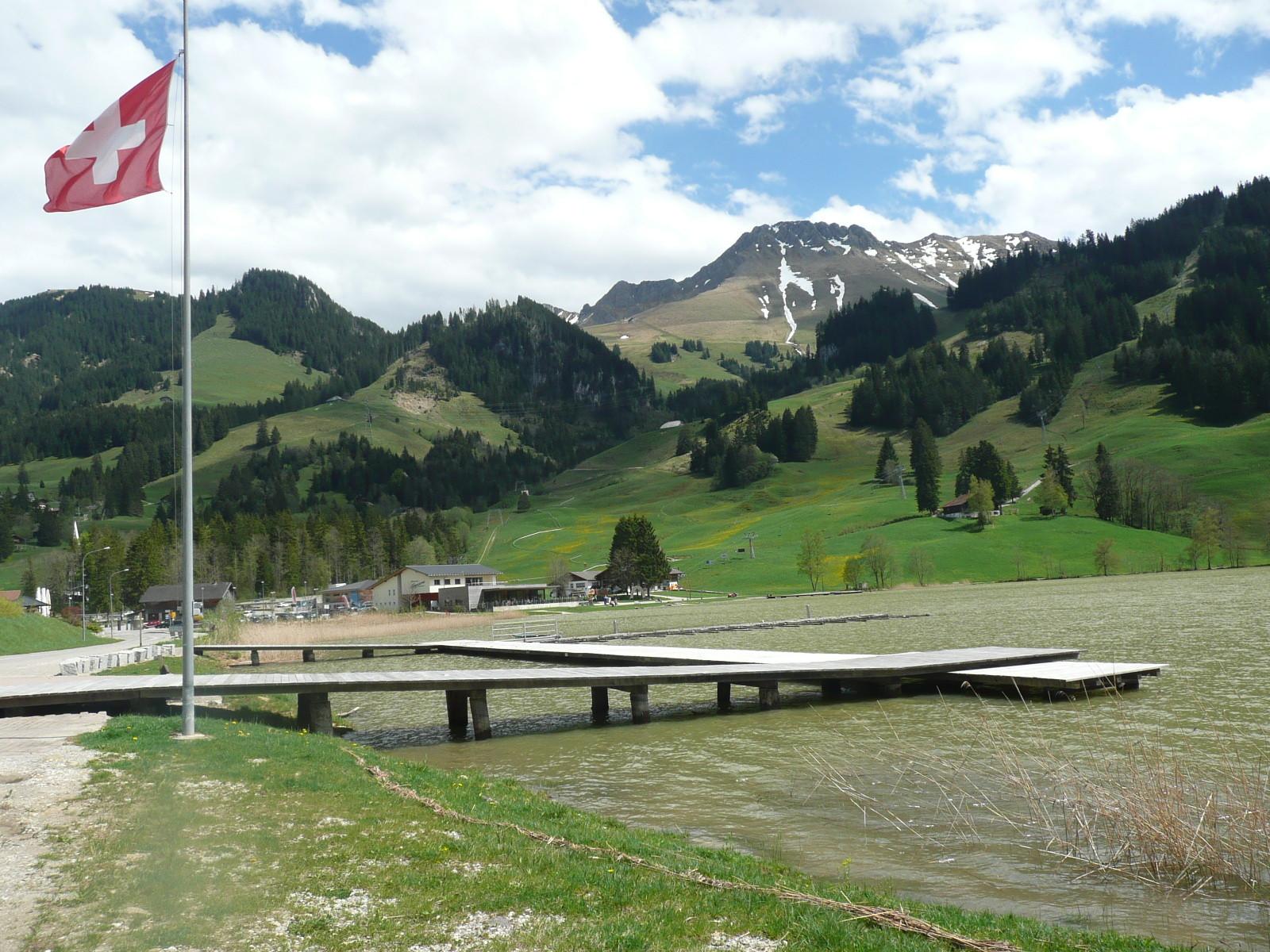 Aussicht auf den Schwarzsee