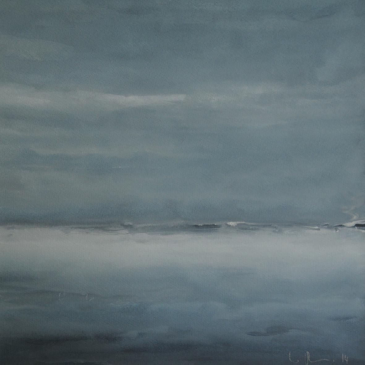 OHNE TITEL, 2014, Aquarell, 30 x 30cm
