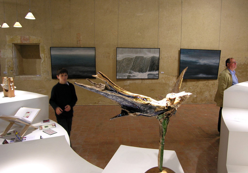 """FORMART"" im Museum ""LES CORDELIERS"", Chateauroux, Frankreich, Oktober 2007"