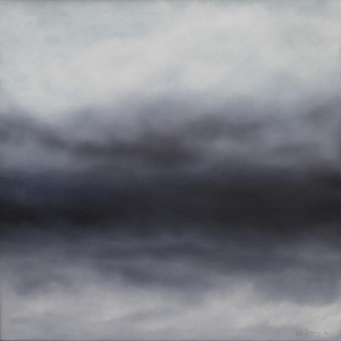 KOMPOSITION 1, 2014, Öl/Lwd., 50 x 50cm