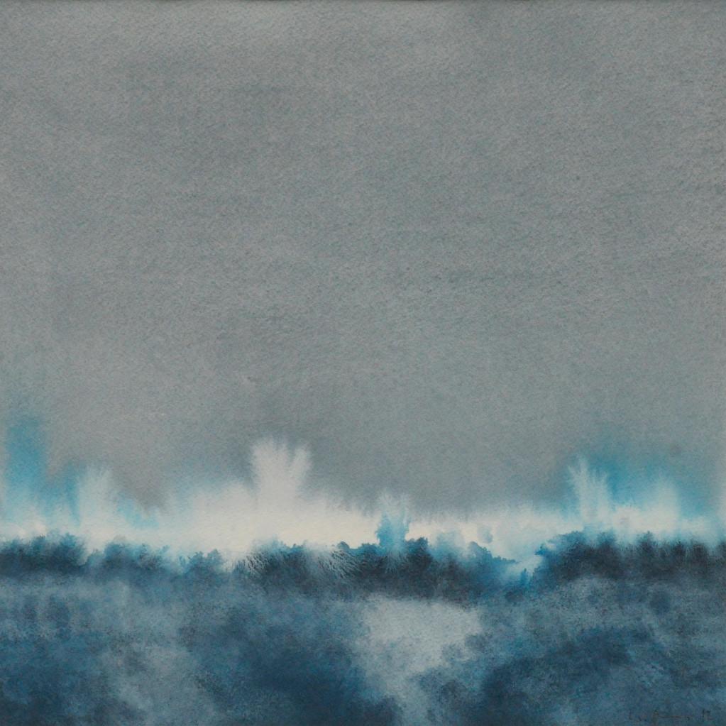 OHNE TITEL, 2012, Aquarell, 30 x 30cm