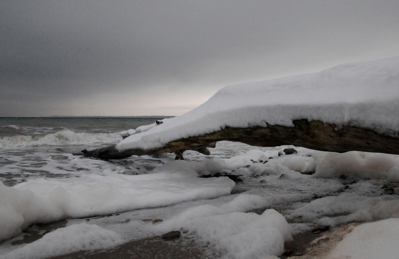 Brodtener Ufer, Januar 2010