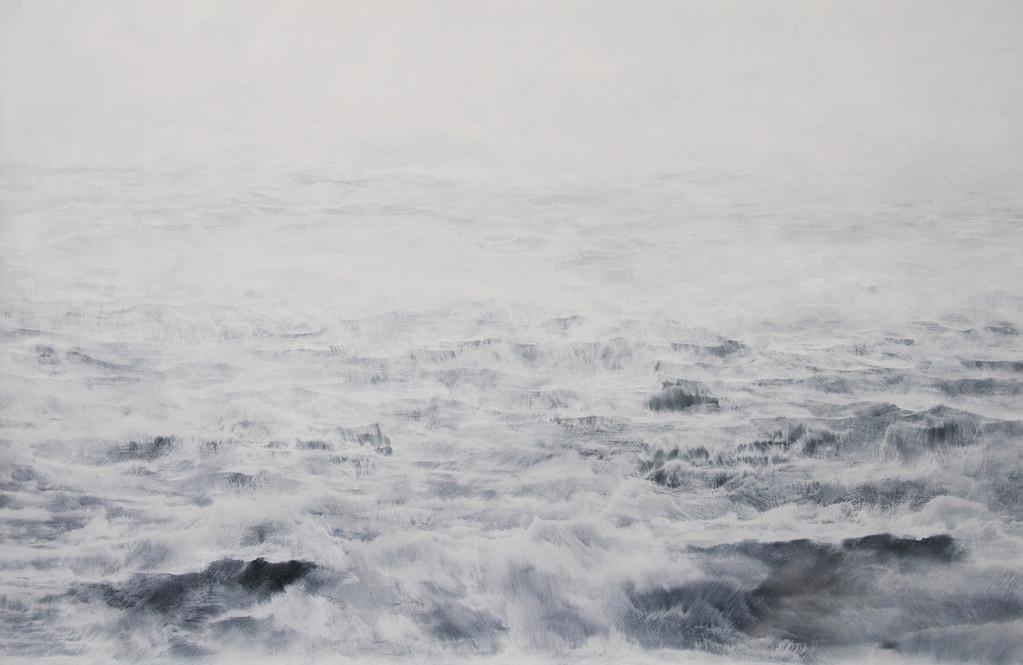 OHNE TITEL, 2011, Öl/Lwd., 100 x 140cm