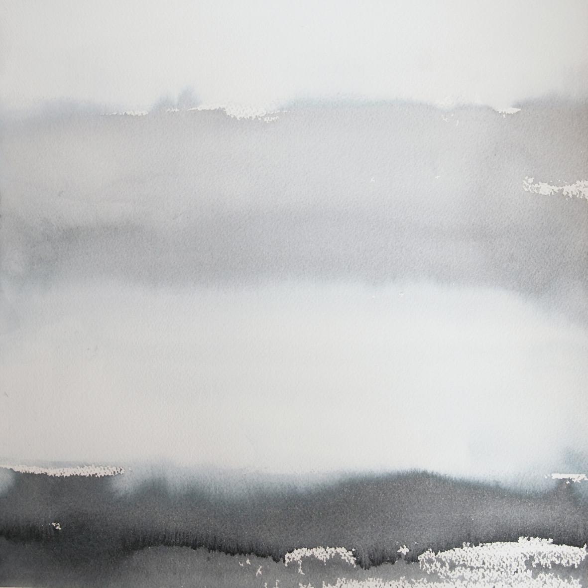 OSTSEESTUDIE, 2013, Aquarell, 30 x 30cm