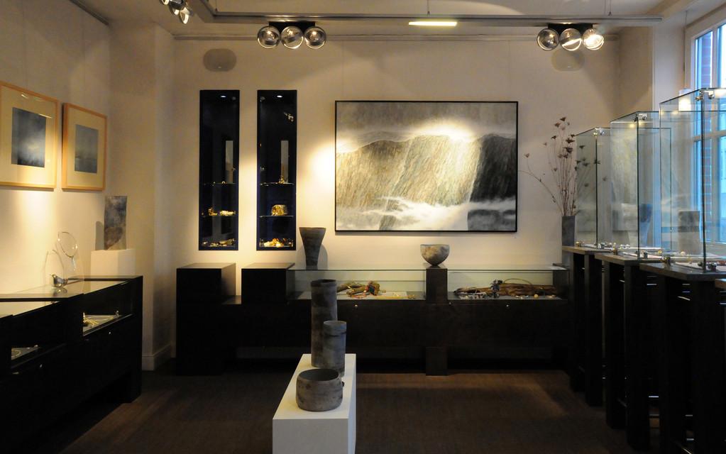 """WEITE LANDSCHAFTEN"" Galerie Zellweger, Lübeck, Februar 2012"