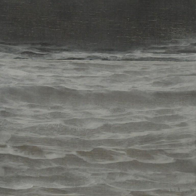 WASSER VII, 2009, Öl/Lwd., 30 x 30cm