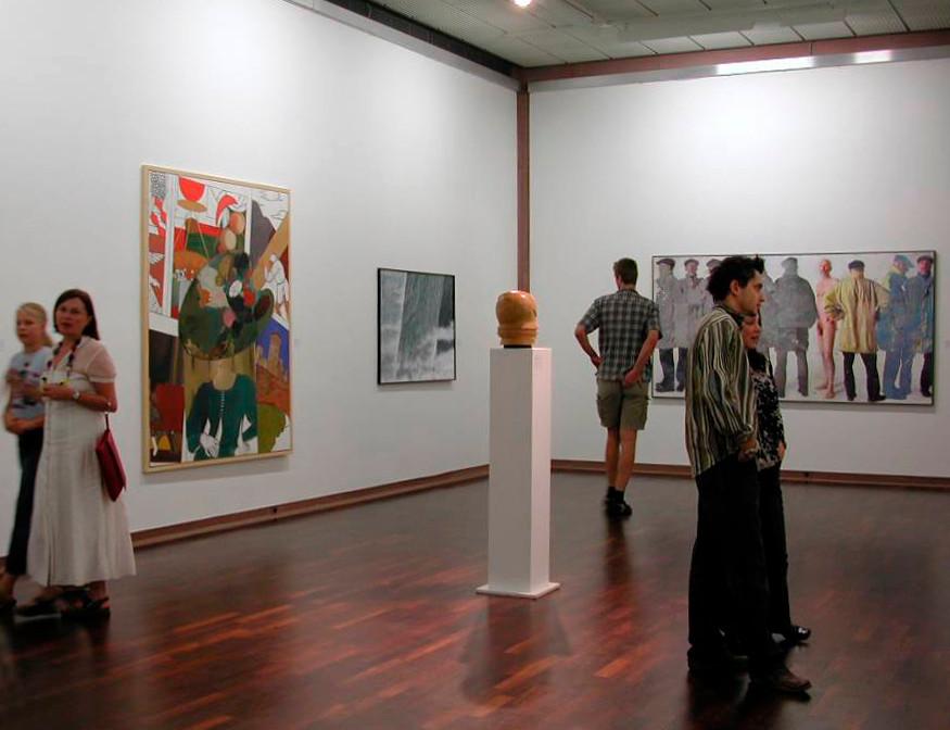2. Bielefelder Kunstmesse, Kunsthalle Bielefeld, 2003