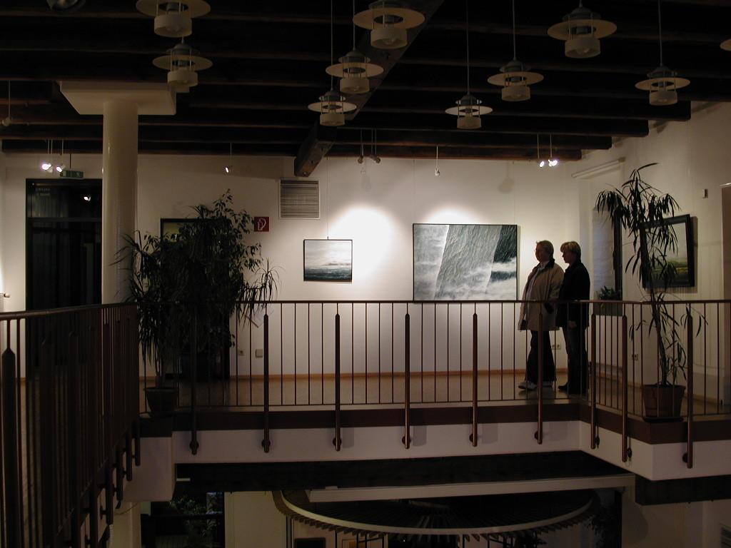 """""""ABSTRAKTE LANDSCHAFTEN"""", Kulturamt Halle/Westf., Remise, November 2008"""