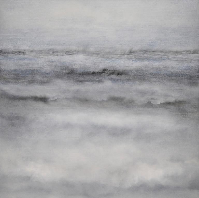 WINTER, 2012, Öl/Lwd., 80 x 80cm