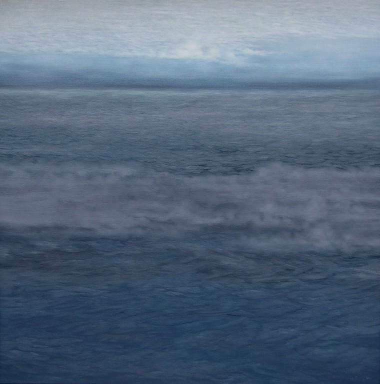WASSER I, 2004, Öl/Lwd., 180 x 180cm