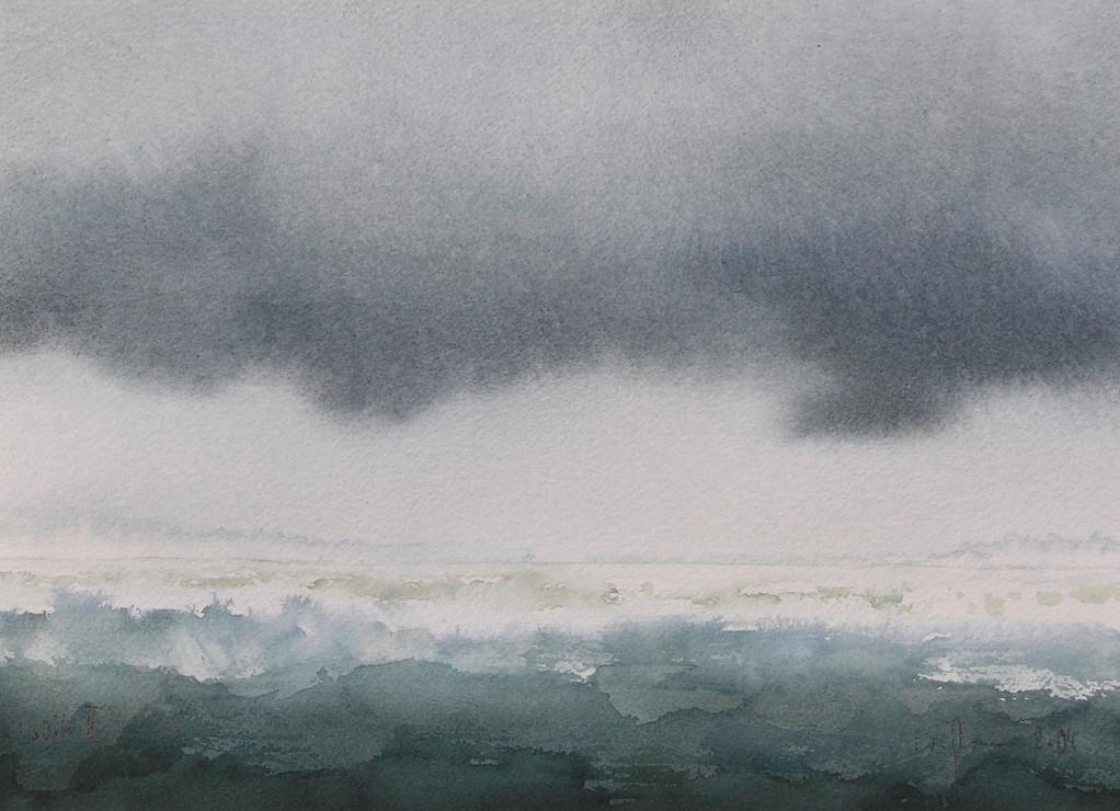 WEITE II, 2004, Aquarell, 21 x 29cm