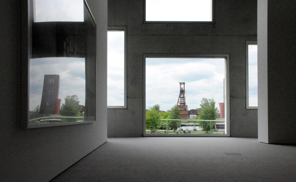 Zeche Zollverein, Haus Sanaa, Essen, 2010