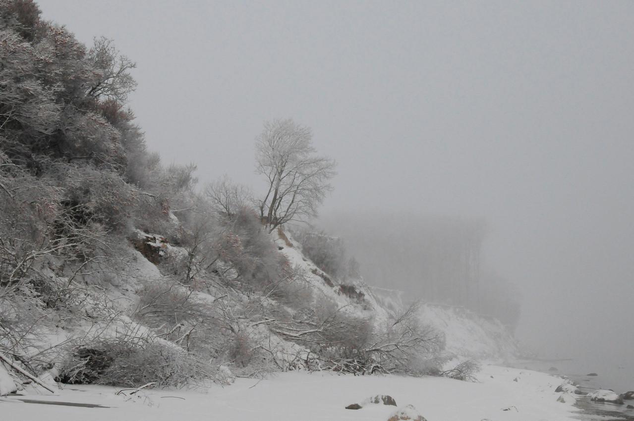 Brodtener Ufer, Dezember 2010