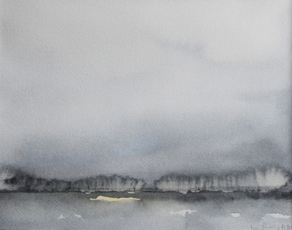 DIE ANDERE SEITE, 2011, Aquarell, 23 x 29cm