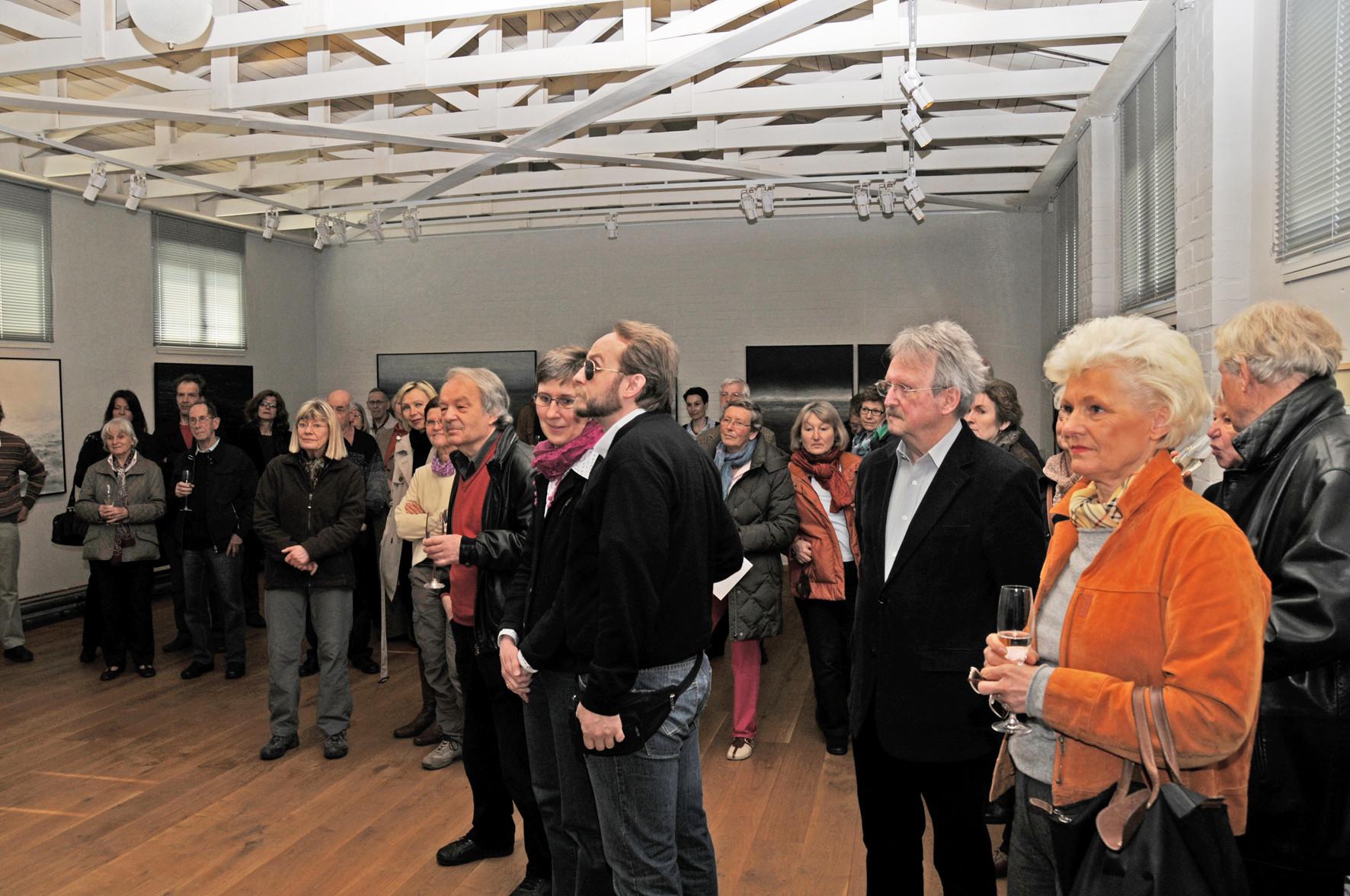 """LANDSCHAFTSBILDER"" Galerie Essigfabrik, Lübeck, Vernissage, April 2012"