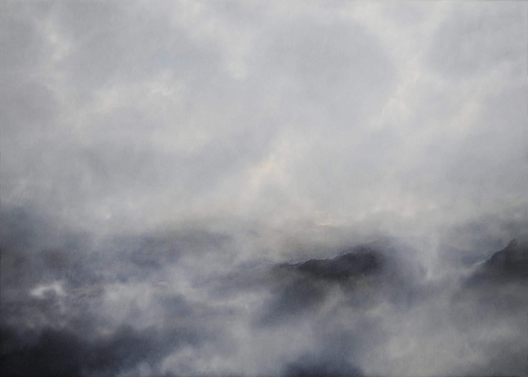 OHNE TITEL, 2015, Öl/Lwd., 100 x 140cm