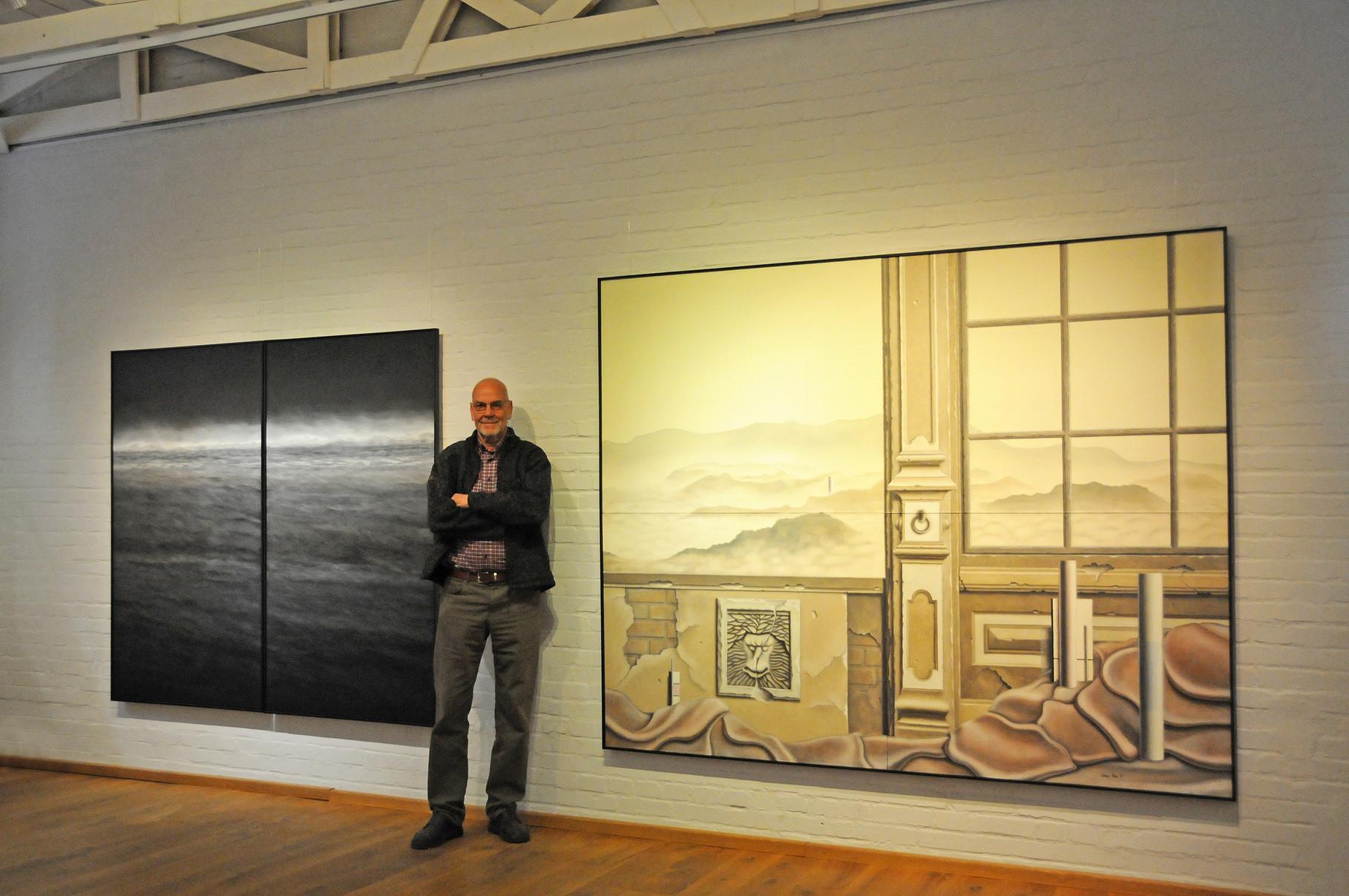 """""""VERÄNDERUNGEN, 45 JAHRE MALEREI"""" Galerie Essigfabrik, Lübeck, April 2014"""