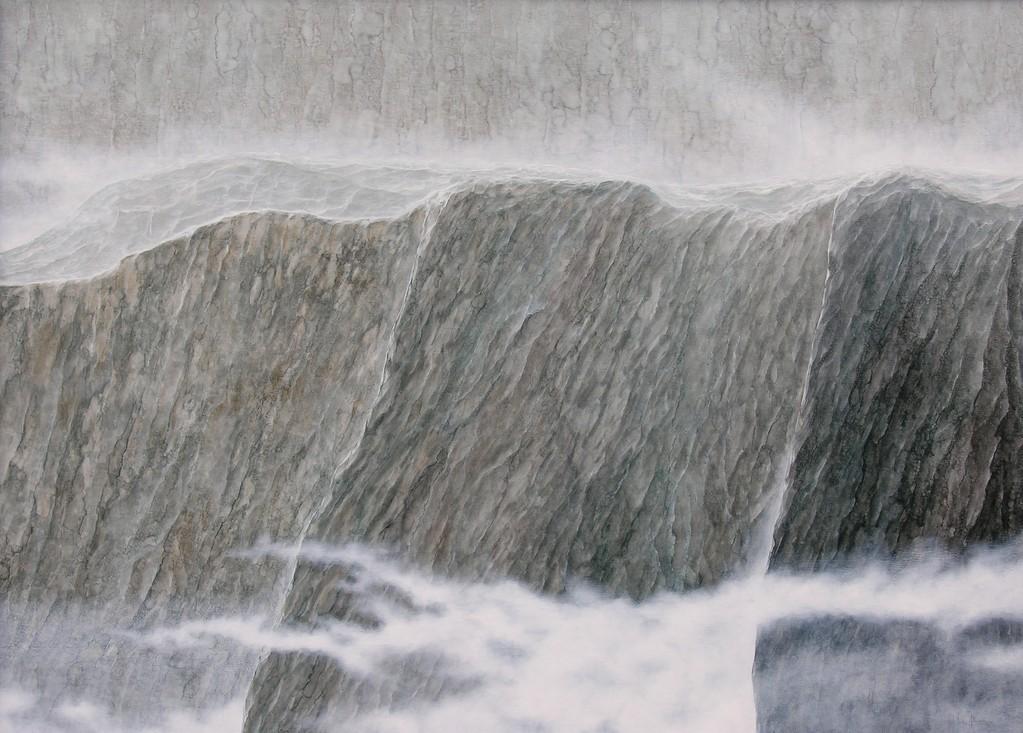 MASSIV V, 2004, Öl/Lwd., 100 x 140cm