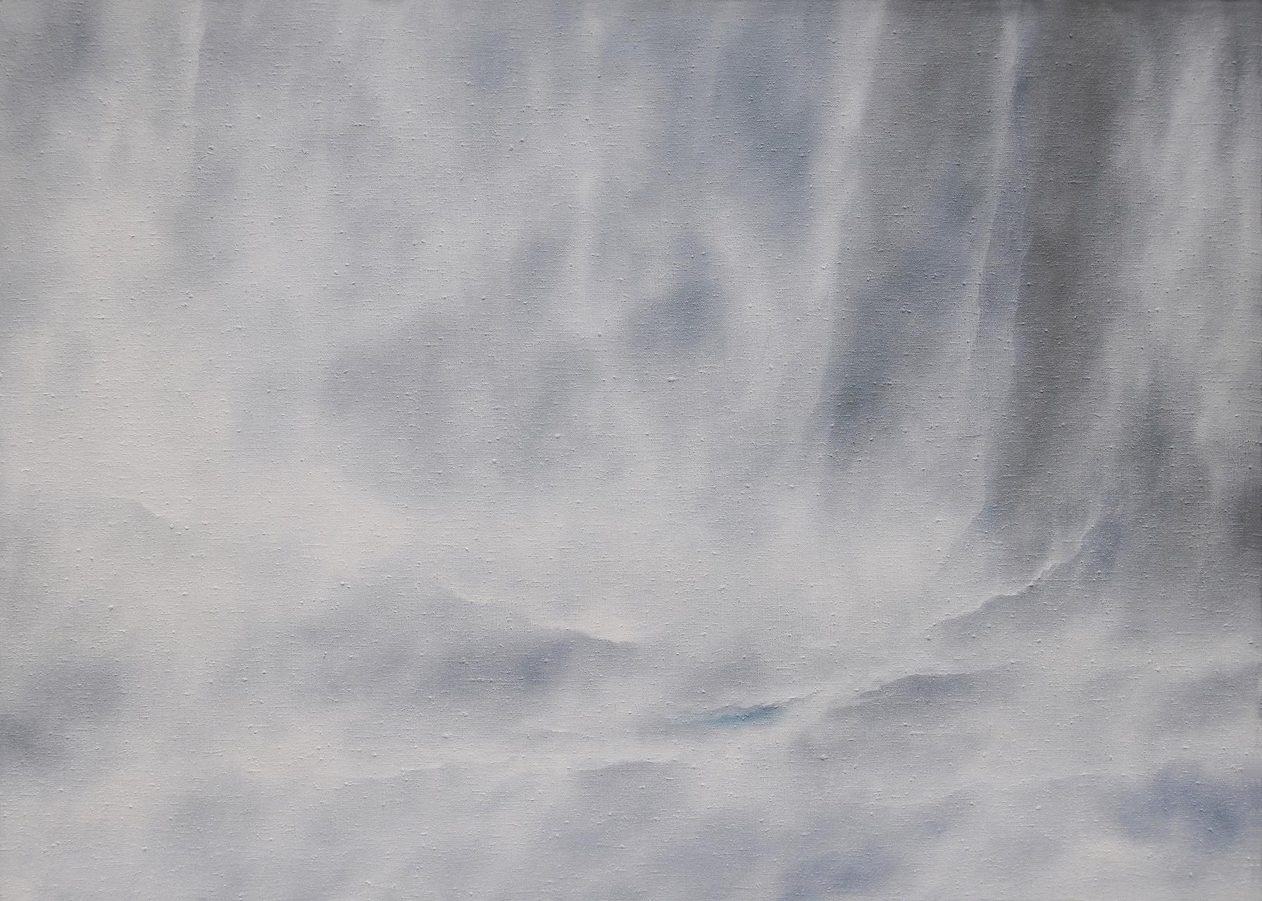 NORWEGEN, 2015, Öl/Lwd. (grob strukturiert), 100 x 140cm