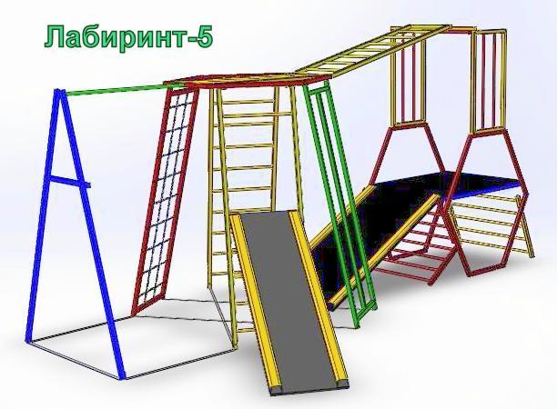 Детские спортивные тренажеры Лабиринт 5