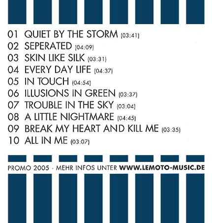 lemoto promo Album 2005 cover back
