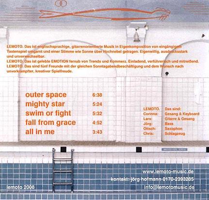 lemoto promo Album 2008 cover back
