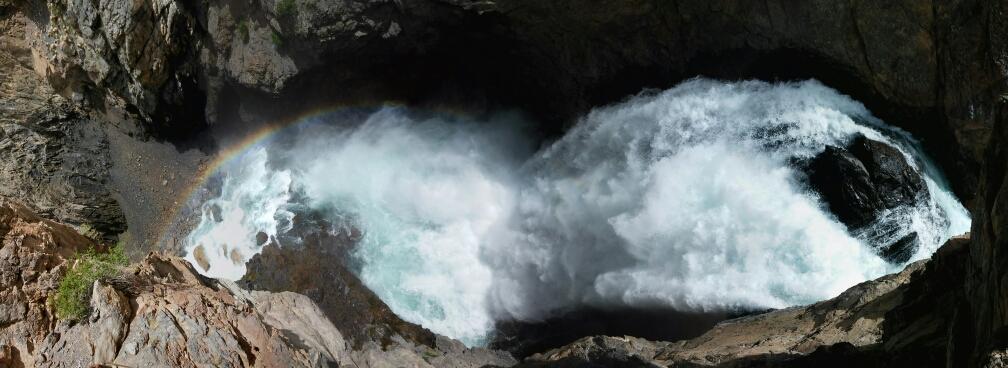 Fan Niagara Wasserfall.... Tosend und ziemlich beeindruckend
