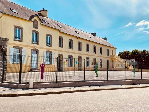 Intervention à l'Ecole Notre-Dame de Cast