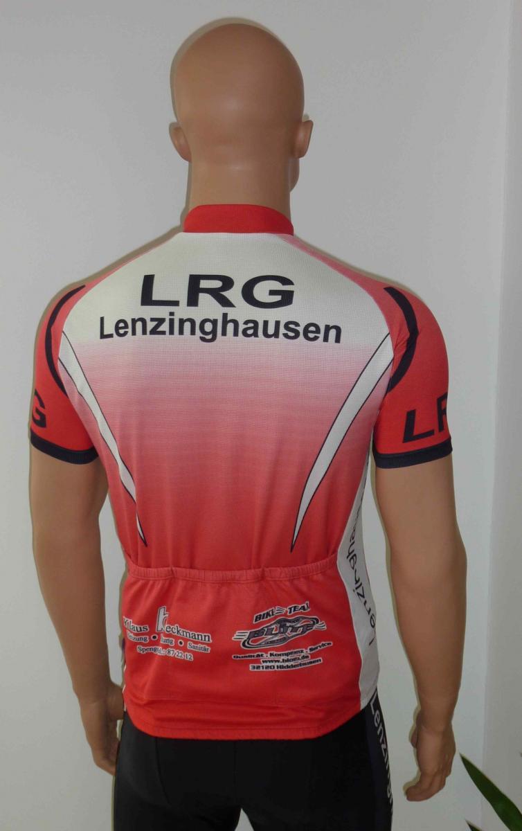 Rad-Trikot kurz mit drei Rückentaschen, 30,00 Euro (Rückenansicht)