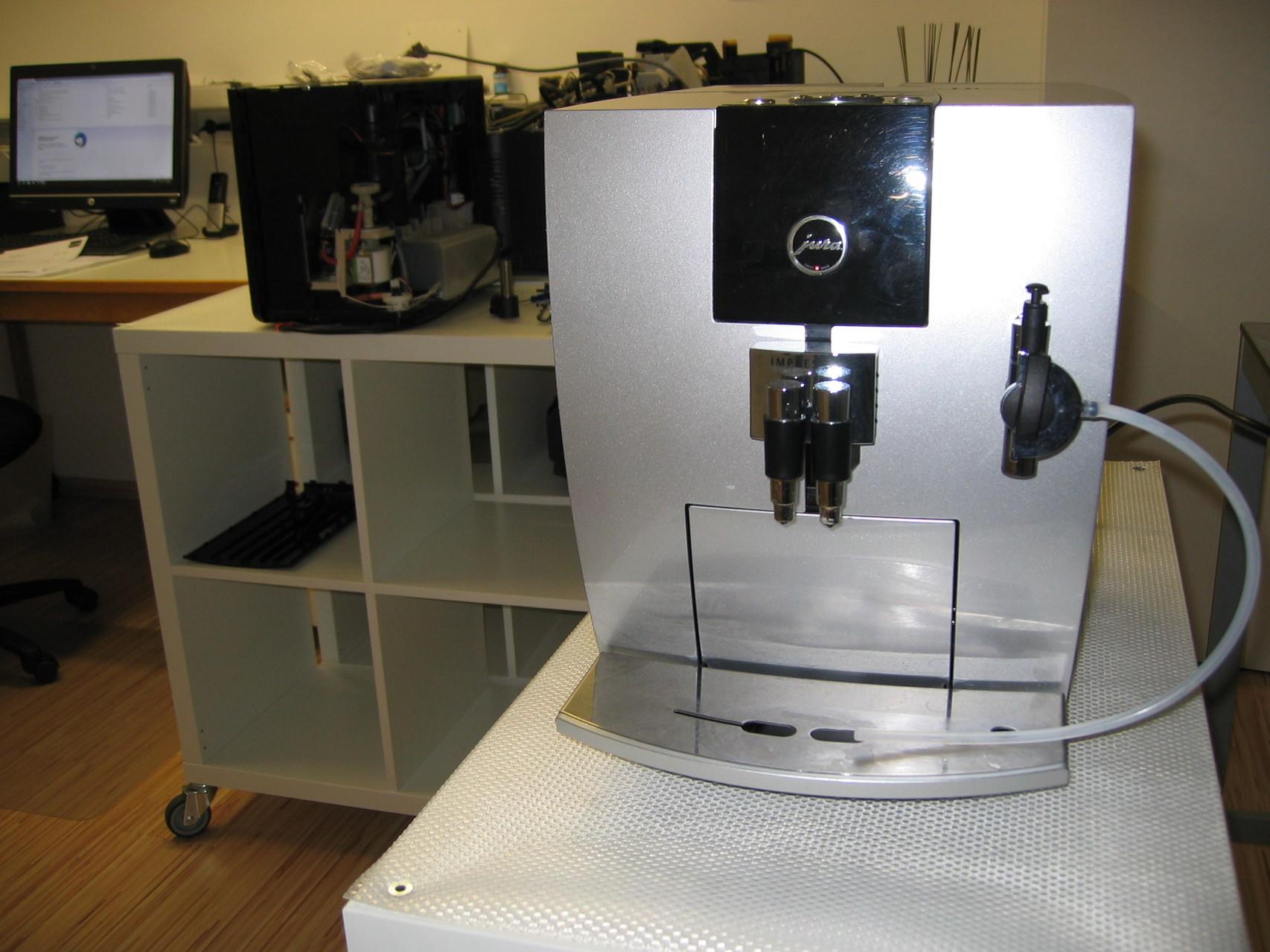 Werkstatt Impressionen - Jura Kaffeevollautomat