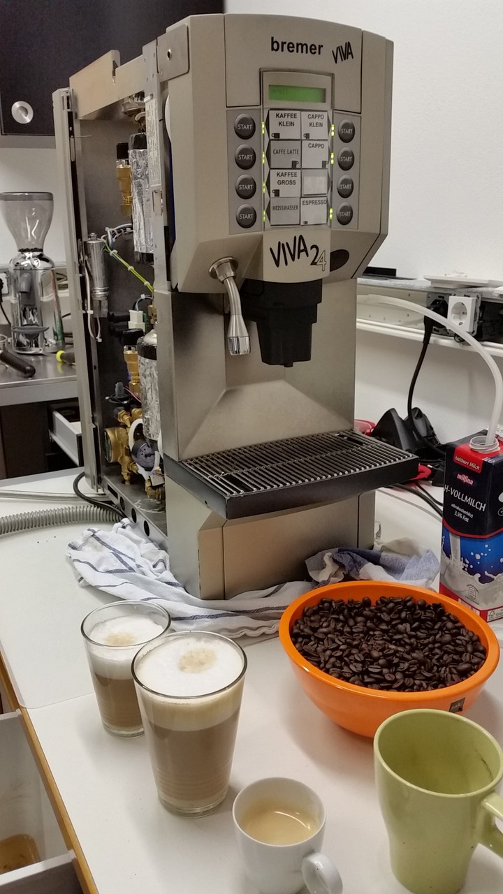 Werkstatt Impressionen - Bremer Viva Gastronomie Kaffeevollautomat