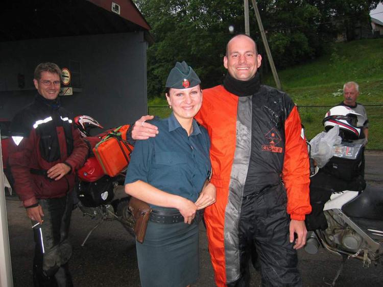 Grenze im Baltikum